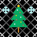 Snow Tree Xmas Icon