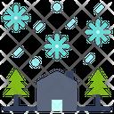 Season Snow Tree Icon