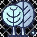 Winter Snow Trees Icon
