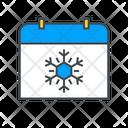 Winter Snow Holiday Icon