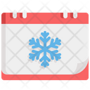 Winter Season Snow Icon