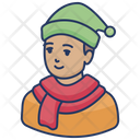 Winter Boy Icon