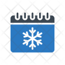 Snowflake Winter Calendar Icon