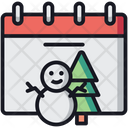 Winter Christmas Xmas Icon