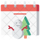 Winter Christmas Snow Icon