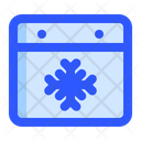 Calendar Cold Forecast Icon