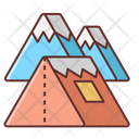 Mwinter Camping Icon