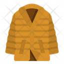 Coat Down Clothing Icon