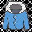 Winter Warm Jacket Icon