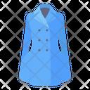 Ladies Apparel Winter Coat Ladies Coat Icon