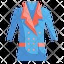 Winter Coat Coat Garment Icon
