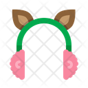 Earmuffs Cold Deer Icon