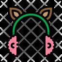 Earmuffs Cold Deer Icon