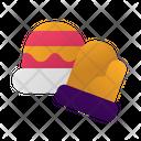 Glove Hat Winter Icon