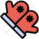 Gloves Winter Clothes Icon