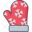 Winter Gloves Hand Protection Warm Gloves Icon
