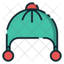 Winter Hat Beanie Cap Icon