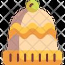 Winter Hat Beanie Chullo Icon