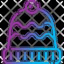 Winter Hat Chullo Beanie Icon