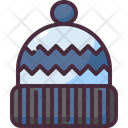 Hat Winter Pompom Icon