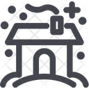 House Winter Building Icon