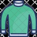 Jacket Warm Winter Icon