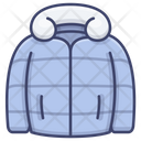 Winter Clothes Jacket Icon