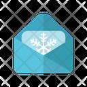 Winter Letter Letter Christmas Letter Icon