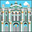 Winter Palace Russia Landmark Icon
