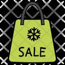 Sale Shopping Winter Sale Icon
