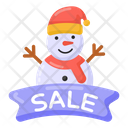 Super Sale Winter Sale Season Sale Icon