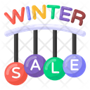 Super Sale Winter Sale Coupons Season Sale Icon