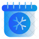 Calendar Winter Season Icon