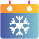Calendar Event Winter Icon