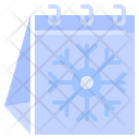 Winter Season Snow Icon