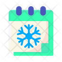 Winter Season Winter Calendar Icon