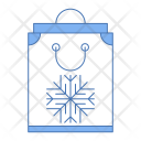 Winter Shopping Icon