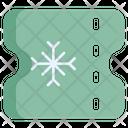 Winter Sport Ticket Icon