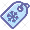 Snow Winter Tag Icon