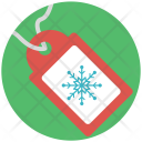 Christmas Sale Tag Icon