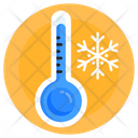 Winter Weather Cool Temperature Cool Day Icon