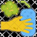 Wipe Germ Kill Icon