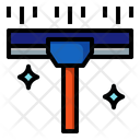 Wiper Stick Squeegee Wash Icon