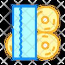 Wipes Rolls Hygiene Icon