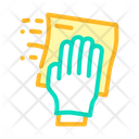 Wiping Microfiber Dust Icon