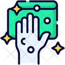 Cleaning Hand Hygiene Icon