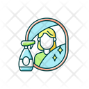 Wiping Mirror Icon