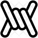 Barbed Wire Cable Icon