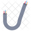 Wire Cable Electricity Icon