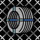 Wire Reinforcement Rebar Icon
